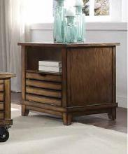 Acme 86937 Millwood pines bohanan oak finish wood end table with drawer