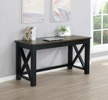 881271 Three posts teen adona deerfield rustic latte vintage black finish wood desk
