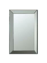 Coaster 901783 Beveled framed edge rectangular frame design frameless decorative wall mirror