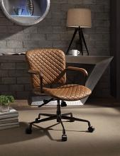 Acme 92029 Josi coffee top grain leather executive office chair with casters