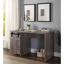 Acme 92205 Mercer 41 ballesteros bellarosa gray washed finish wood farmhouse style desk