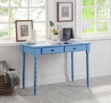 Acme 93009 Beachcrest home andrey aiden blue finish wood student writing desk with drawers