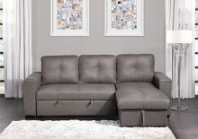 9569NFTP-SC Winston porter medina taupe fabric storage chaise reversible sectional sofa