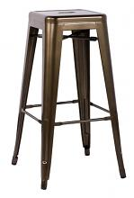 Acme 96252 Set of 2 Kiara antique bronze finish metal barstool