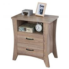 Acme 97262 Colt rustic natural finish wood nightstand bed side end table (CLONE)