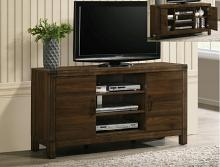 B3100-8 Darby home co belmont II natural rustic finish wood tv stand console