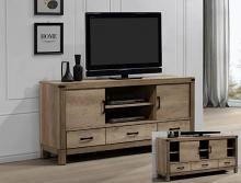 B3200-7 Darby home co matteo natural rustic finish wood tv stand console