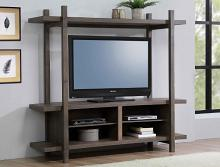 B8280-8 Darby home co tacoma II grey finish wood tv stand console with upper shelf