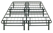 Twin size bonus base complete mattress support system platform bed frame no box spring required