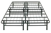 Twin size bonus base complete mattress support system platform bed frame no box spring required