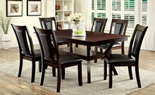 CM3984W-T-DK-7PC 7 pc Darby home co wilburton brent cherry wood finish dining set