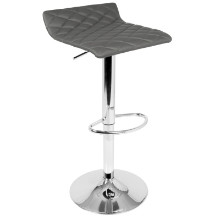 Cavale Contemporary Adjustable Barstool