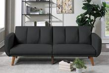 Poundex F8510 AJ homes studio lakeview winston porter kasen black polyfiber sofa futon