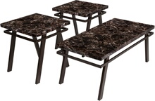 Signature Design by Ashley Paintsville 3 Piece Occasional Table Set [FSD-TS3-76FM-GG]