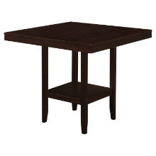 "Dining Table - 42""X 42"" / Cappuccino Counter Height"