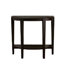 "ACCENT TABLE - 36""L CAPPUCCINO HALL CONSOLE"