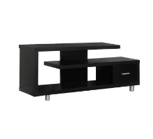 "Tv Stand - 60""L / Cappuccino With 1 Drawer"