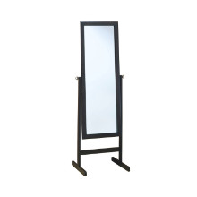 "MIRROR - 60""H CAPPUCCINO WOOD FRAME"