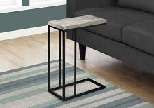 Accent Table - Grey Reclaimed Wood-Look / Black Metal