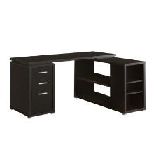 Computer Desk - Cappuccino Left Or Right Facing Corner