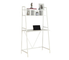 "Computer Desk - 32""L / White Top / White Metal"