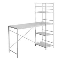 "Computer Desk - 48""L / White Top / White Metal"