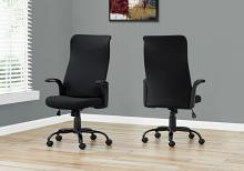 OFFICE CHAIR - BLACK / BLACK FABRIC / MULTI POSITION
