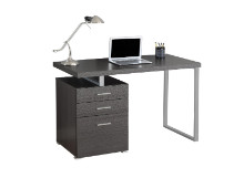 "Computer Desk - 48""L / Grey Left Or Right Facing"