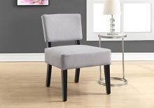Accent Chair - Light Grey Fabric