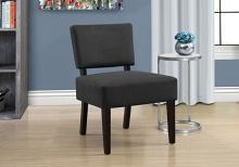 Accent Chair - Dark Grey Fabric