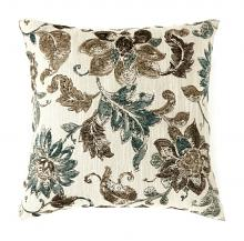 """Furniture of america PL6018 Set of 2 fionna collection multi colored fabric 22"""" x 22"""" throw pillows"""