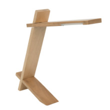 Plank Contemporary Desk Lamp in Natural