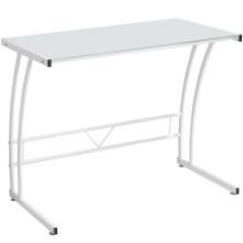 Lumisource OFD-TM-BITSGL-W Sigma Contemporary Desk in White Frame and White