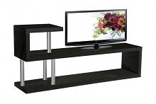 Best Master TR-4-BK Randell black finish wood modern style tv stand