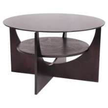 U Shaped Coffee Contemporary Table in Wenge