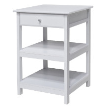 10121 Delta Home Office Printer Stand, White