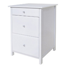 10321 Delta Home Office File Cabinet, White