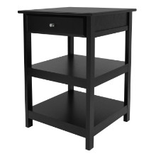 22121 Delta Home Office Printer Stand, Black