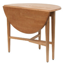 "Hannah Round 42"" Double Drop Leaf Gate leg Table"