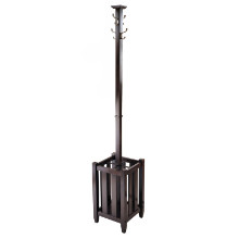 40474 Memphis Coat Tree & Umbrella Rack, Cappuccino