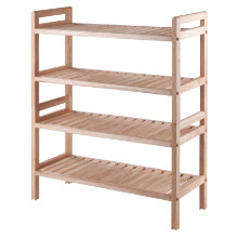 81429 Mercury 2-Pc Stackable Shoe Rack Set
