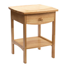 82218 Claire Accent Table Natural Finish