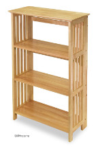Mission 4-Tier Shelf