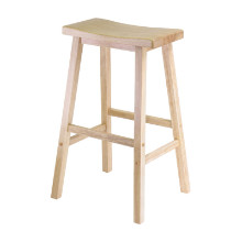 "Satori 29"" Saddle Seat Bar Stool Beech"