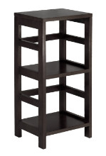 Leo Shelf / Storage, Book, 2-Tier, Narrow