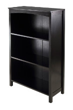 Terrace Storage Shelf 4-Tier in Espresso Finish