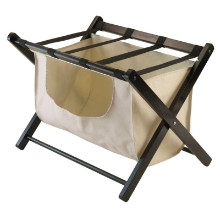 Dora Luggage Rack with removable fabric basket