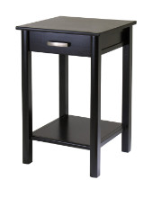 92719 Liso End Table / Printer Table with Drawer and Shelf
