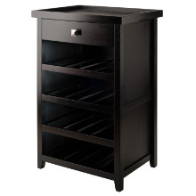 Zillah Wine Cabinet with Removable Tray