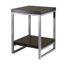 93418 Jared End Table, Enamel Steel Tube